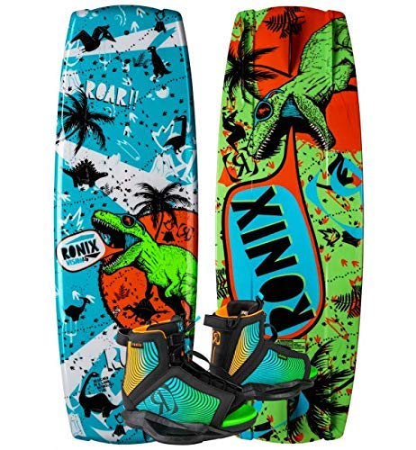 Ronix 120 Vision Kid's Wakeboard Package with Vision Boot 2-6