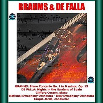 Brahms & De Falla: Piano Concerto No. 1 in D minor, Op. 15 - Nights in the Gardens of Spain