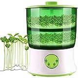 Semences Sprouter Germoir pour Les Haricots et graines germées, entièrement Automatique à Double Couche de Grande capacité Intelligente Mini Bean Choux Machine