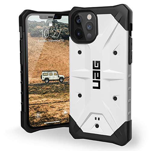 URBAN ARMOR GEAR UAG Designed for iPhone 12 Case/iPhone 12 Pro Case [6.1-inch Screen] Rugged Lightweight Slim Shockproof Pathfinder Protective Cover, White