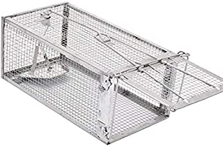 Rayking Mouse Trap,Chipmunk Trap Humane Live Rat Trap Cage for Mice and Other Small Rodent Animals