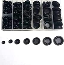 170PCS Rubber Grommet Firewall Hole Plug Assortment Set Electrical Wire Gasket for Auto Body and Sheet Metal