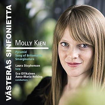 Molly Kien: Pyramid, Song of Britomartis & Smarginatura