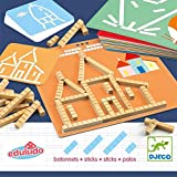 DJECO- Juegos de Acción Y Reflejos Educativos Eduludo Palos, Multicolor (15)