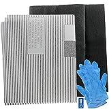 Spares2go - Filtros de grasa para campana extractora de ventilación (2 filtros cortados, 100 cm)
