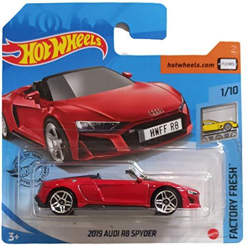 Hot Wheels 2019 Audi R8 Spyder Factory Fresh 1/10 2020 (175/250) Short Card