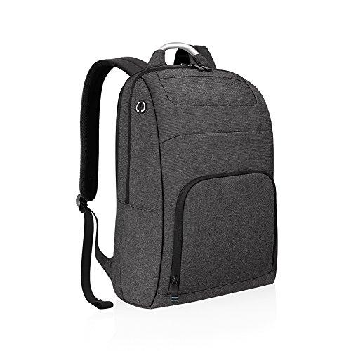 REYLEO Zaino pc 15.6 pollici portatile Backpack laptop resistente all'acqua ideale per lavoro e scuola ( Grigio scuro )