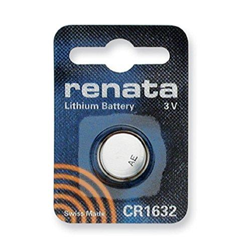 Renata CR1632 3V litio moneda celular reloj batería DL1632, ECR1632, BR1632 (1 x CR 1632)