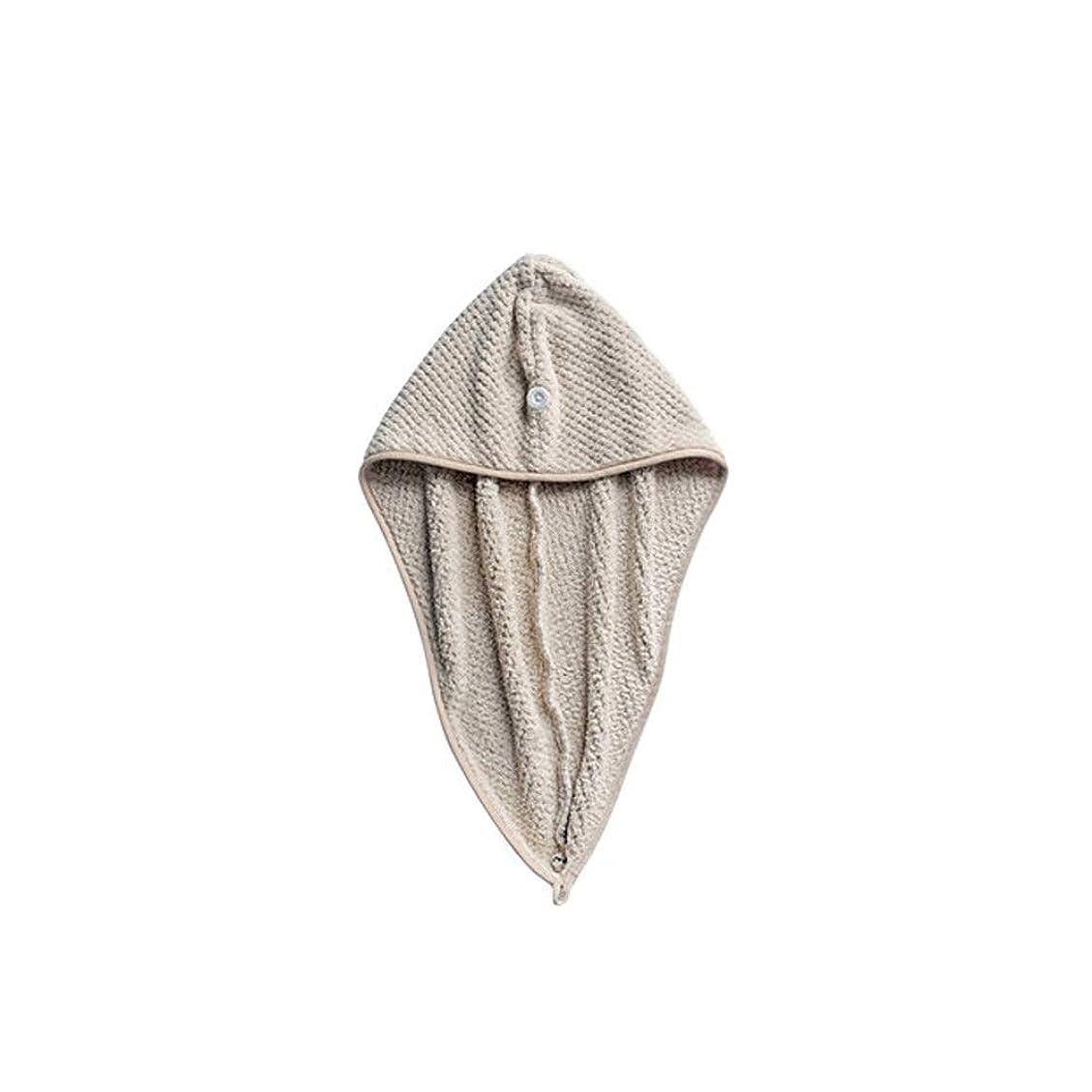 ブロンズスペード日付HEHUIHUI- シャワーキャップ、ダブルシャワーキャップ、レディース弾性防水シャワーキャップ HHH (Color : Gray)