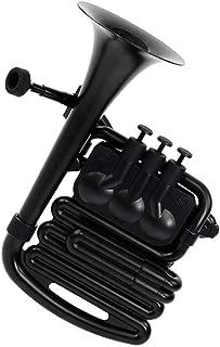 NUVO ヌーボ プラスチック製管楽器 完全防水仕様 Bb調/C調 jHorn Black/Black N610JHBBK (専用セミハードケース付き) 【国内正規品】