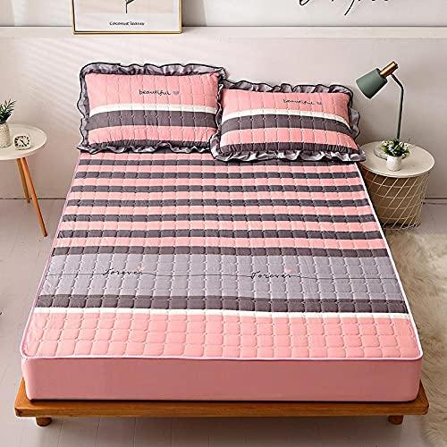 CYYyang Sábana Ajustable súper Suave, cálida y acogedora Una Sola Pieza de sábana de Invierno engrosamiento-12_150 * 200cm
