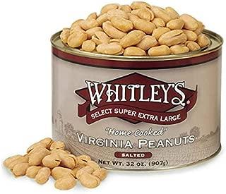 Whitleys Salted Virginia Peanuts 32 Ounce Tin