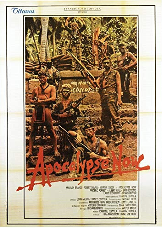 Black Creations Apocalypse Now  1979 Poster Canvas Picture Art Print Premium Quality A0 A1 A2 A3 A4 (A0 Canvas (30 40))