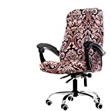 Deisy Dee Computer Office Chair Covers for Stretch Rotating Mid Back Chair Slipcovers Cover ONLY Chair Covers C162 (Totam)