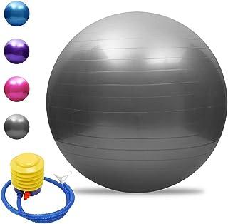bouncevi Ballon De Yoga ,Fournitures De Yoga Boule De Cacahu/ète Anti-d/éflagration Anti-d/éflagrante Remise en Forme Balle De Kin/ésith/érapie