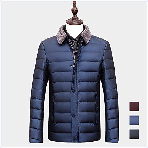 ZHUDJ Mens Homme Winter Men's Jacket Veston