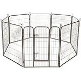 TecTake Parque para Mascotas Valla Libre Corriendo Jaula para Animales - Varios Modelos - (Altura de 100cm | no. 402501)