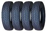 4 Premium FREE COUNTRY Trailer Tires ST 205/75D15 F78-15 Deep Tread- 11021
