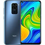 Xiaomi Redmi Note 9 -Smartphone 6.53' FHD+ DotDisplay (4GB RAM, 128GB ROM, Quad Camera , 5020mah Batteria, NFC) 2020 [Versione Italiana] - Colore Midnight Grey