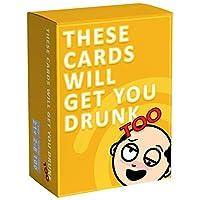 ボードゲームおもちゃこれらのカードは、あなたドランク英語カードを取得します,イエロー