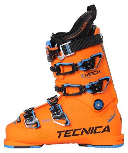 Moon Boot Tecnica - Mach 1 130 LV Hommes Chaussure de Ski (Orange/Noir)