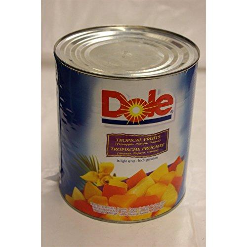 Dole Tropische Früchte 3000ml Konserve (leicht gezuckert)