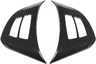 YlRNhe Pommeau de Levier de Vitesse en Fibre de Carbone ABS pour BMW E90 E92 E93 E87 S/érie 3 2005-2012