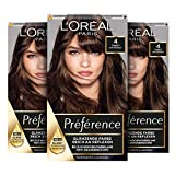 L'Oréal Paris Préférence 4 Naturbraun (Tahiti) 3er Pack(3 x 183 g)