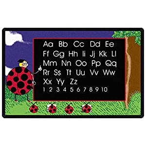 Lady Bug Kids Area Rug 7'6″x12′