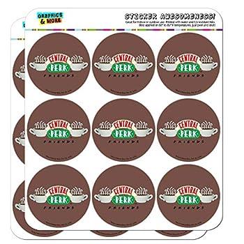 Friends Central Perk Logo Planner Calendar Scrapbooking Crafting Stickers