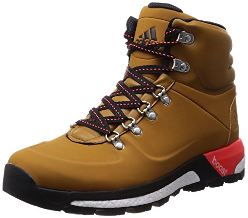 adidas Boost Urban Hiker CW Men gold ochre f15/solar red/core Größe 46 2015