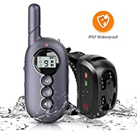 Ribivaul Dog Training Safe Lock E-Collar WIth Remote Control