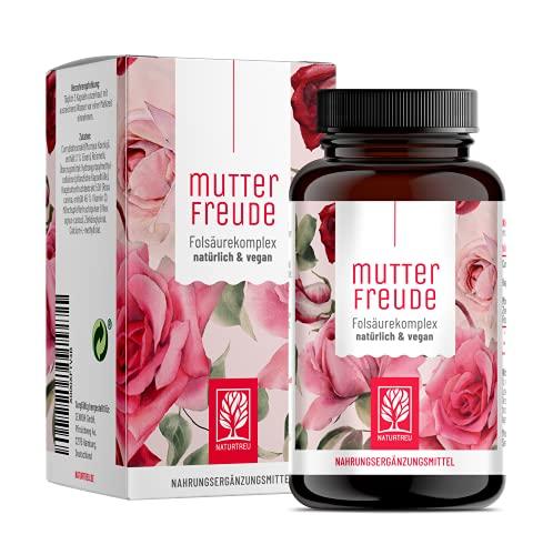 Mönchspfeffer Kapseln hochdosiert - 125mg Mönchspfeffer & 400ug Folsäure, Eisen, B12, Vitamin C, Zink - 90 Kapseln