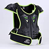 MOTOWOLF Kids Dirt Bike Body Chest Spine Protector Armor Vest Protective Gear for Dirtbike Bike Motocross Skiing Snowboarding (S)