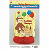 14' Honeycomb Curious George Centerpiece Decoration