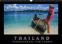 Thailand - Traumstraende und Tempel (Wandkalender 2022 DIN A3 quer): Faszierende Aufnahmen von den Traumstraenden zu den goldenen Tempeln. (Monatskalender, 14 Seiten )