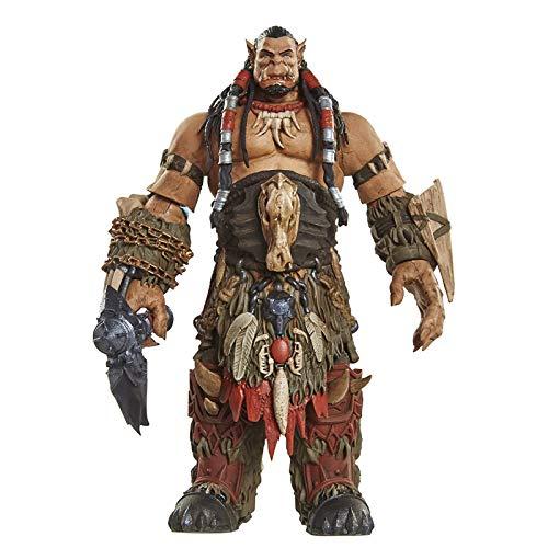 Khosd World of Warcraft Durotan Regalo Creativo Figura de acción de la Estatua Figura de acción Estatua Modelo Decoración Arte Regalos Creativo Decoración del hogar Joven Recuerdo Escultura