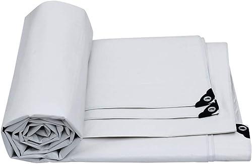 Qing MEI Auvent en Tissu Imperméable à l'eau Et Résistant à La Pluie Toile Pare-Soleil Extérieure 175g   M2 De Bache De Prougeection De Voiture Pengbu A+ (Taille   8x12m)