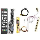 TV HDMI VGA AV USB Audio Placa de controlador LCD para Lp154W01/B154Ew08/B154Ew01 Kits de placa de controlador LCD de 15,4 pulgadas