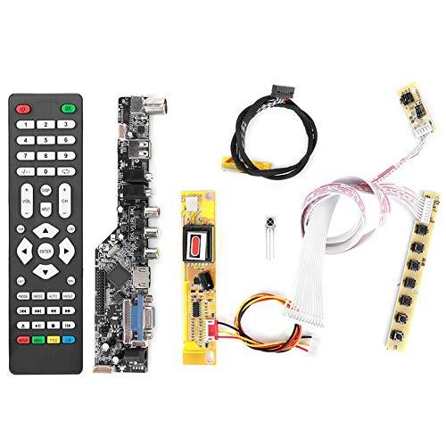 LCD-Treiberplatine LCD-TV-Controller-Modul HDMI VGA AV USB-Audiomonitor Treiber-Controller-Kit 15,4-Zoll für Lp154W01/B154Ew08/B154Ew01