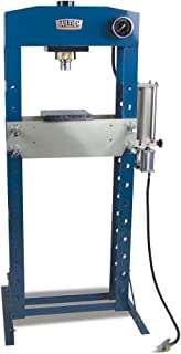 Baileigh HSP-30A Air/Hand Operated H-Frame Shop Press, 30 Tons, 22-1/2