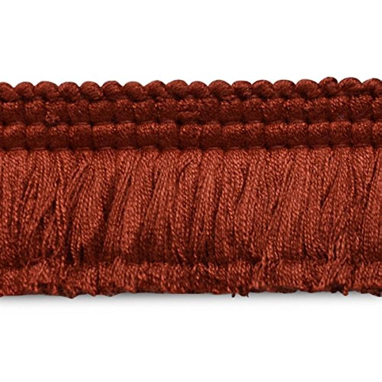 Expo CN021914K35-24 24 Yards of Conso Brush Fringe Trim Cranberry