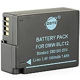 DSTE - Batería de repuesto para DMW-BLC12E y BP-DC12, Sigma BP-51, V-LUX4, Panasonic DMC GX8, G85, G7, FZ2000, FZ2500, FZ1000, FZ200, FZ300 y Leica Q