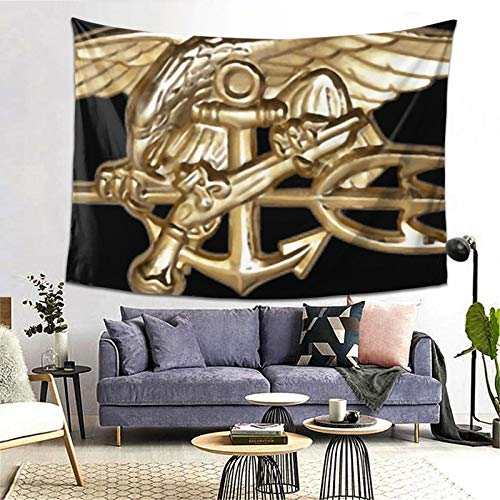 Navy Seals Trident Tank Top Art Tapestry Handicraft Party Decoration Banner Garland Event Banner and Home Decoration
