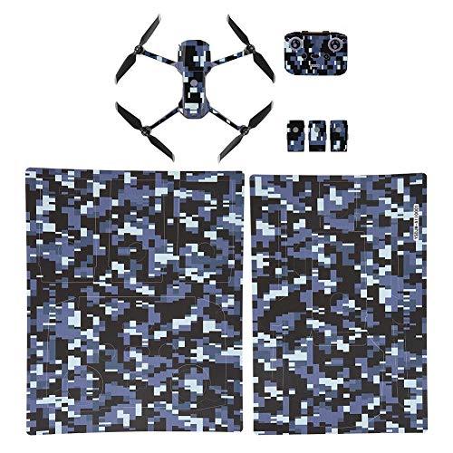 Ccylez 2 Pezzi Mini Pelli, Adesivi in PVC Resistenti ai Graffi Kit Adesivi Pelli, Mini Drone Adesivi Paster droni Accessori Copertura Protettiva con buona fattura per Slot Machine