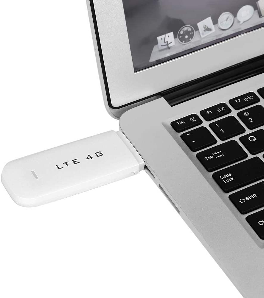 High Speed 100Mbps Wireless WiFi/Hotspot Router Plug and Play Portable LTE 4G USB Memory Stick with Built-in 4G//3G+WiFi Antenna WiFi White 4G LTE Network Adapter