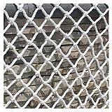 Gpzj Red de protección para Piscina Red de protección Infantil Red de Seguridad Cuerda Tejida al Aire Libre Escalada de balcón Escalera Barandilla anticaída Plataforma de Rejilla Decoración de jardín