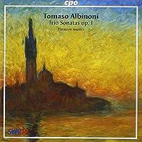 Albinoni: Trio Sonatas op 1 (2001-04-17)