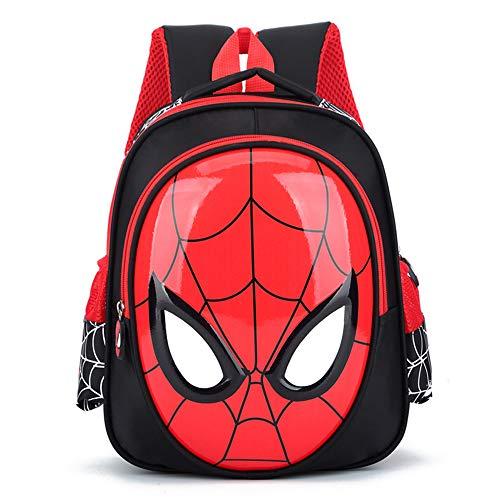 LLKSS Halloween Kinder Rucksack Spiderman Muster Kinder Schultasche Kindergarten Jungen Und Mädchen Freizeit Urlaub Teenager Reiserucksack