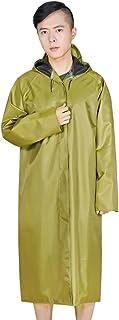 PENGFEI レインコートポンチョ キャンバス ロングセクション シャム 労働保護 厚い 通気性のある 陸軍黄色 3サイズ (色 : Army yellow, サイズ さいず : XXL)
